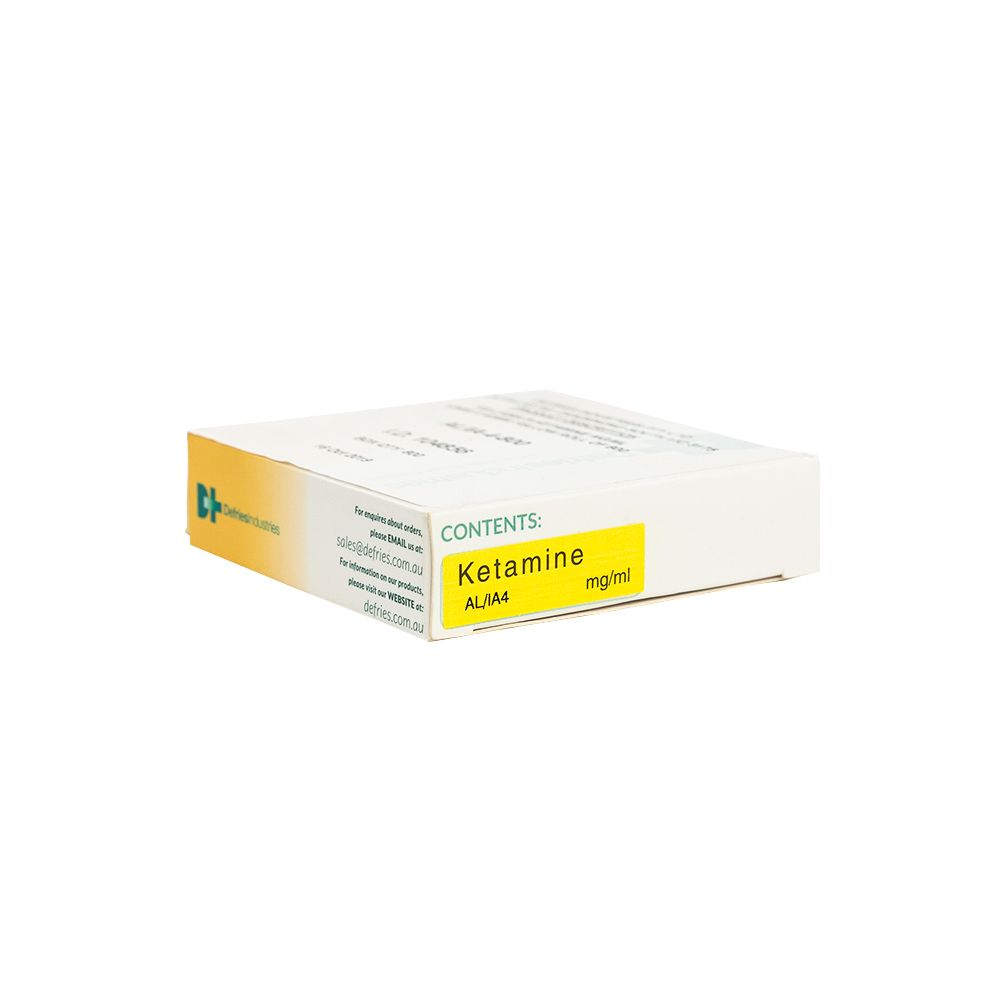 AL/IA4 Drug Label Ketamine