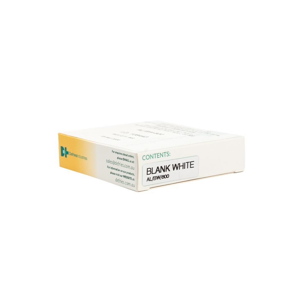 AL/BW-800 Drug Label Blank