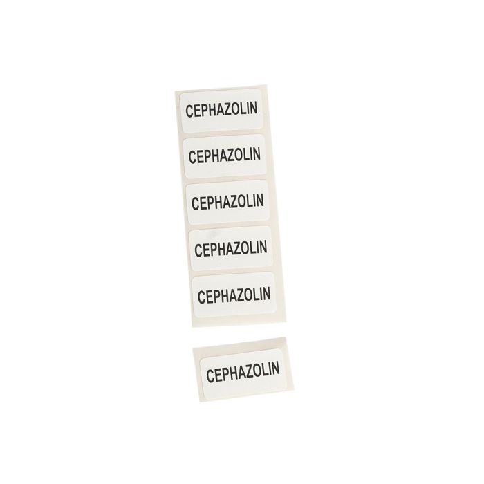 Drug Label Cephazolin
