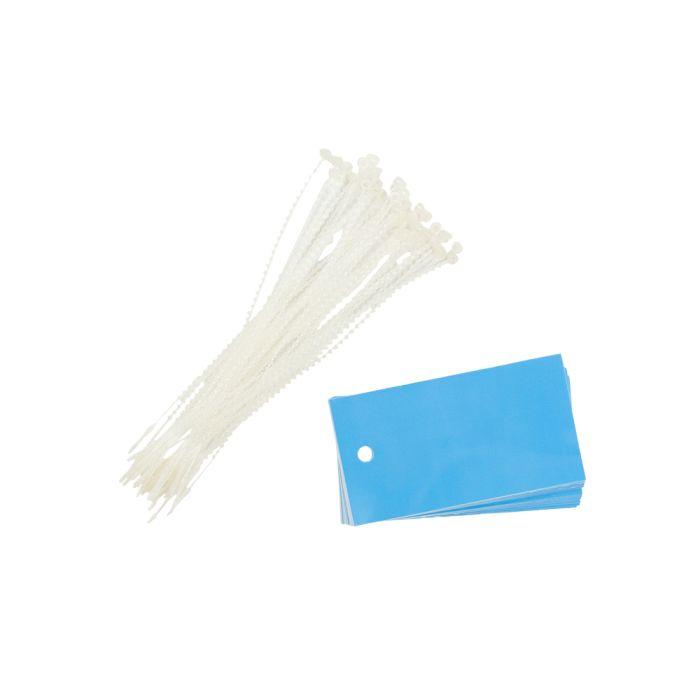PT013/BLUE Poly Tag Blue
