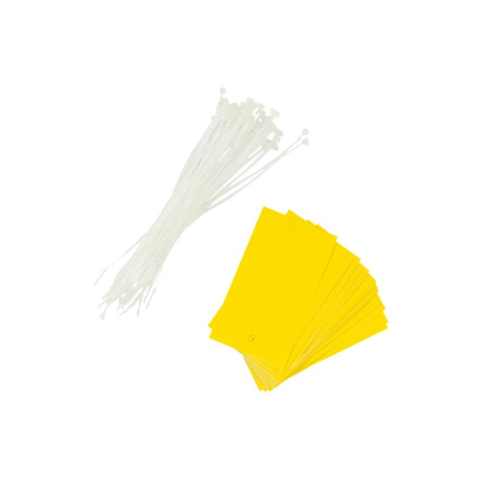 PT013/YELLOW Poly Tag Yellow
