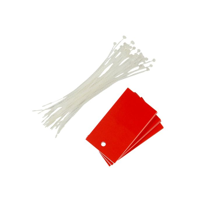 PT013/RED Poly Tag Red