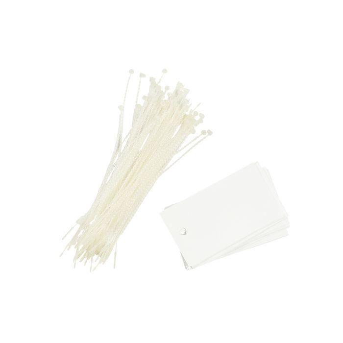 PT013/WHITE Poly Tag White