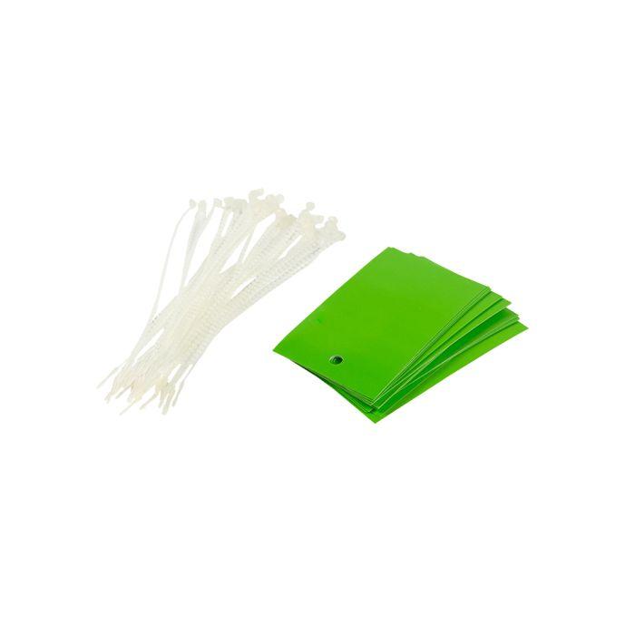 PT013/GREEN Poly Tag Green