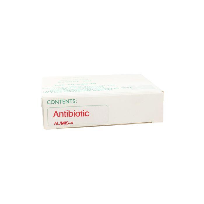 AL/MIS4 Drug Label Antibiotic