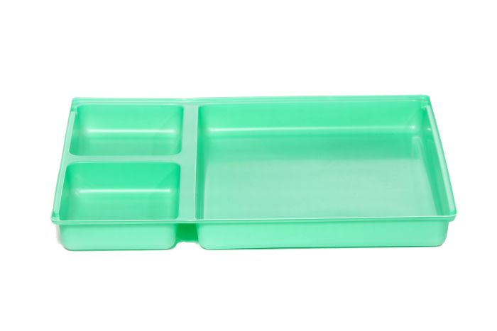 DEF2690A Dressing Tray with 3 compartments