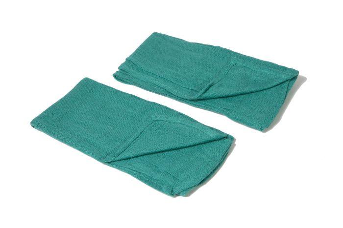 DEF2619 Green Huck Towels