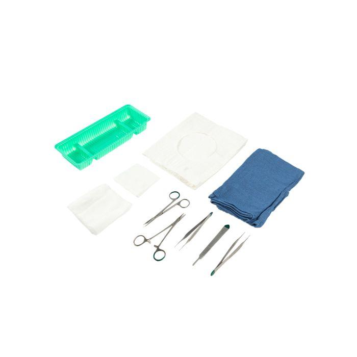 Fine Plastic Suture Tray