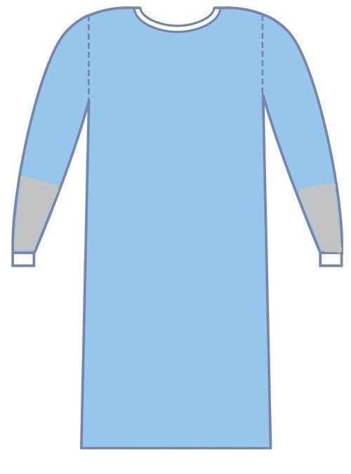 Comfort Surgical Gown Unreinforced